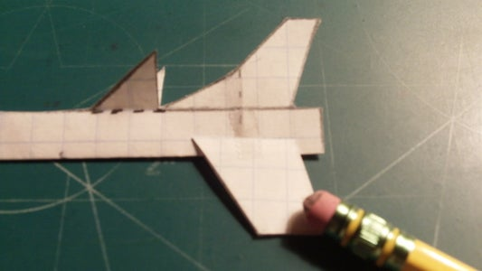 Assembling the Horizontal and Ventral Stabilizers