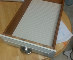 How to Apply a Drawer Liner