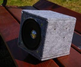 Wooden Portable Speaker