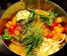 One Pot Wonder - Tomato Basil Spaghetti Recipe