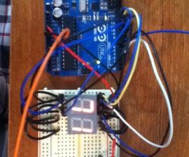 Arduino Digital 7-Segment Thermometer