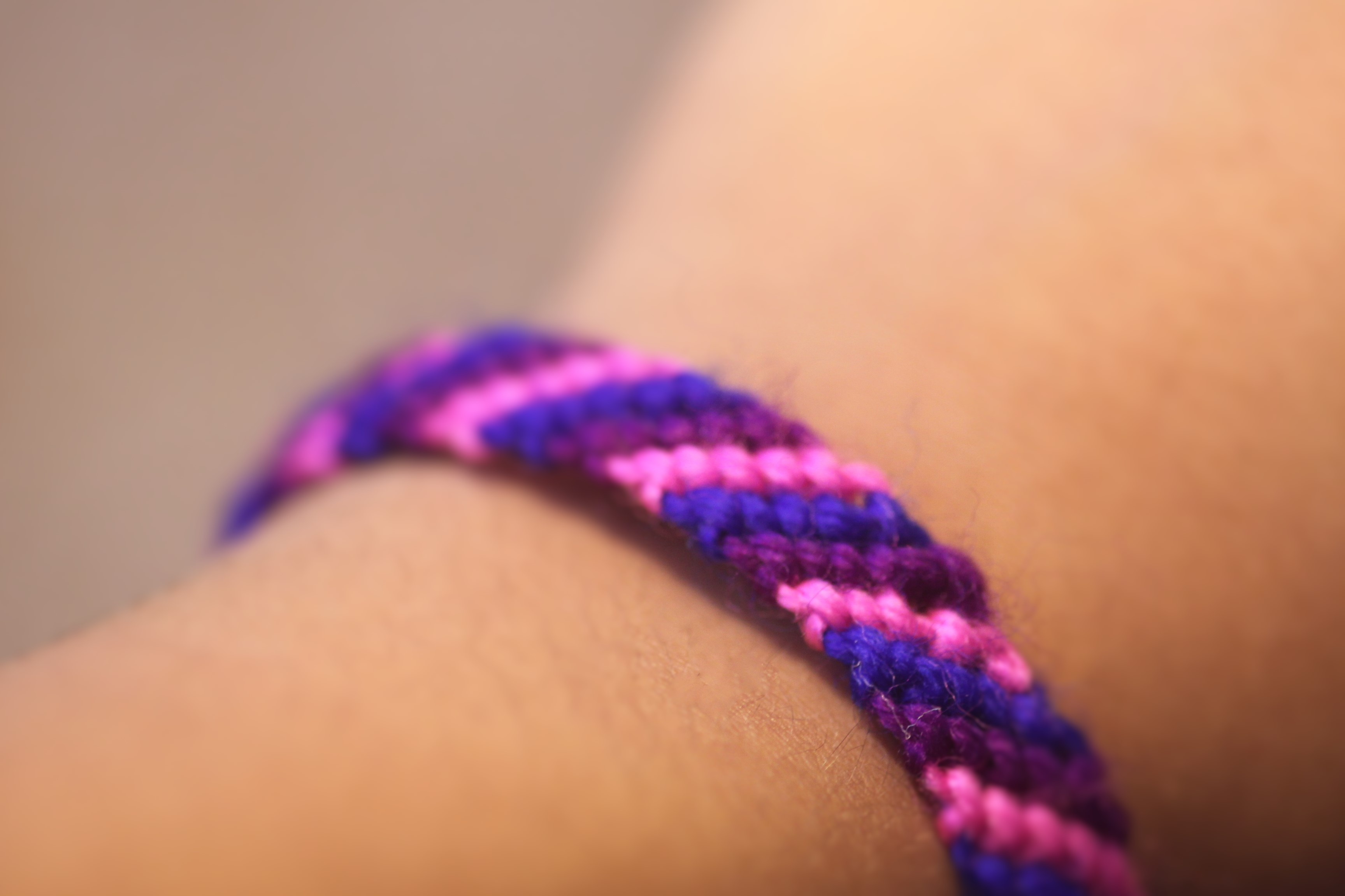 Picture of How to Make Bracelets Using Yarn