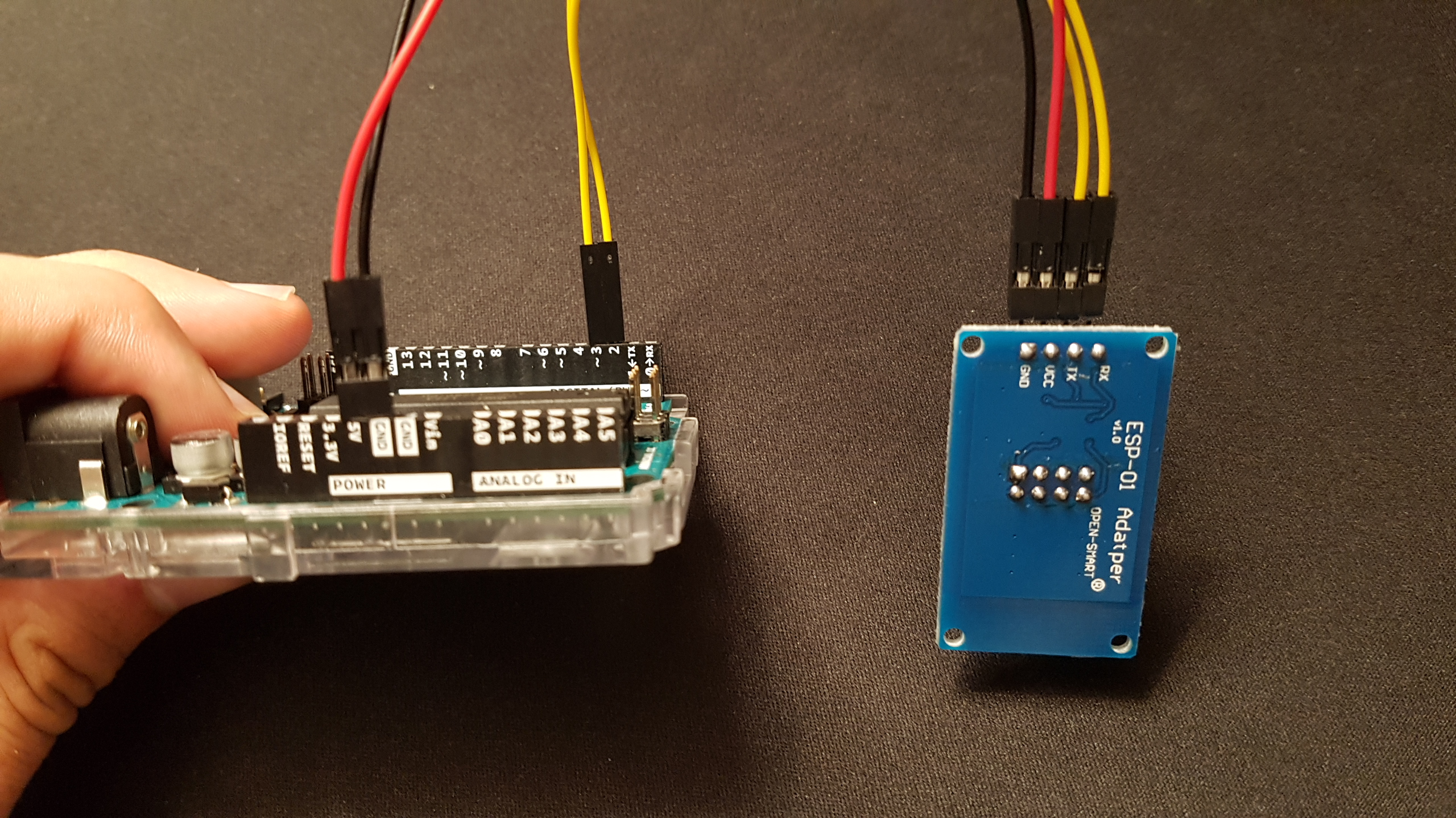 Picture of Connecting Arduino and ESP