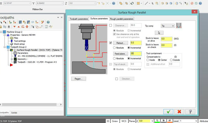 Picture of MAKE VALUES TOOLPATHS