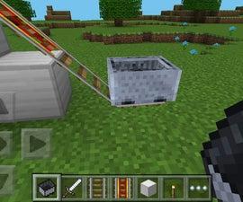 Minecarts on Minecraft PE