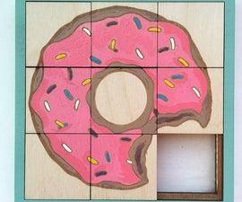 Lasercut Slide Puzzle