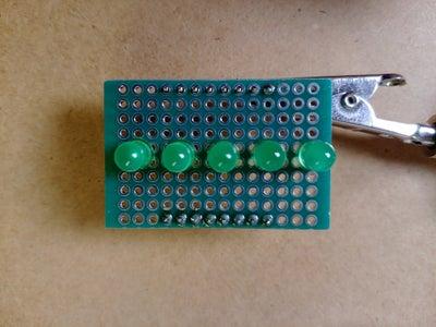 Prototypen-Schild Löten