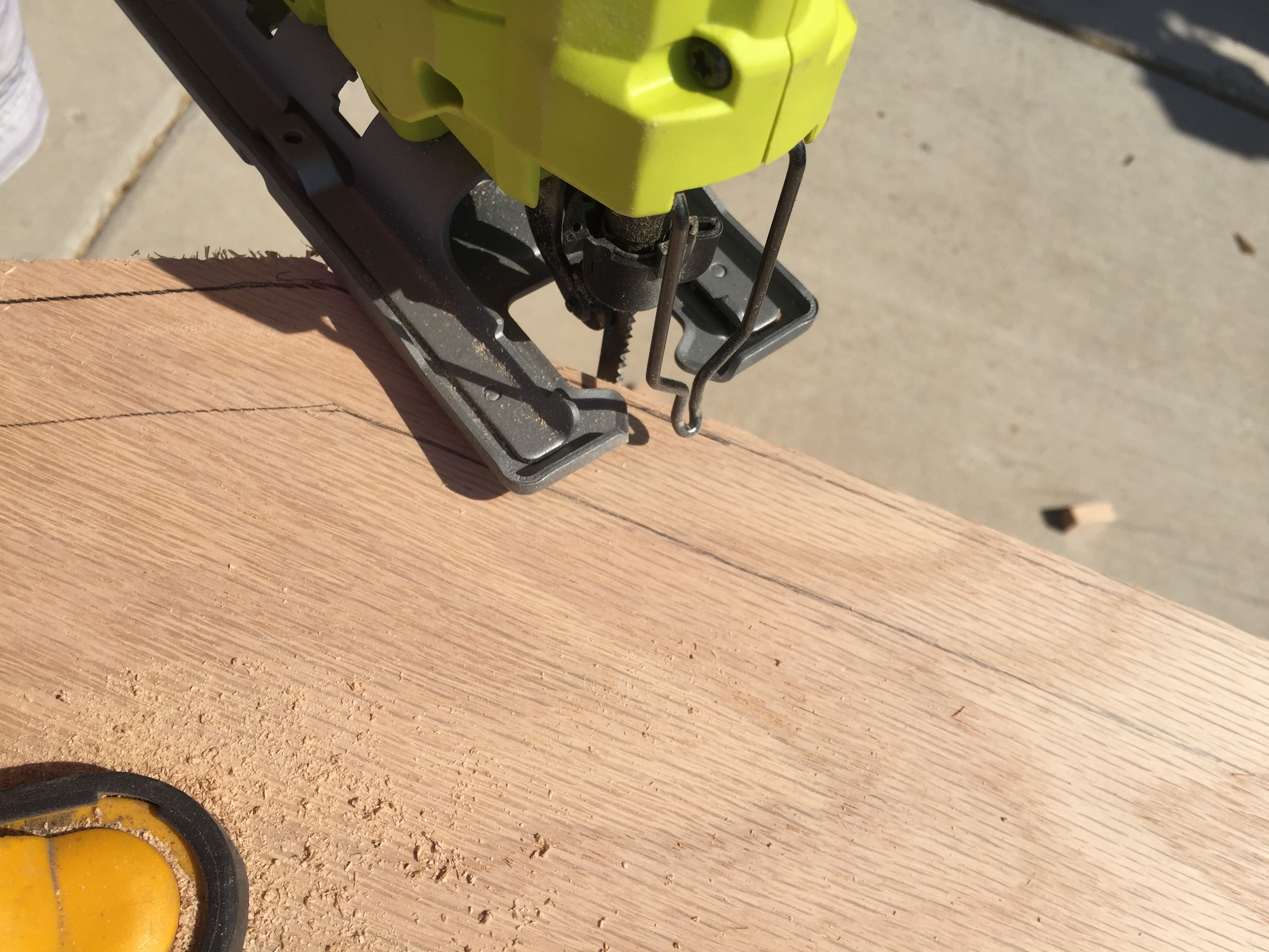 Picture of Cutting Out Multiple Board Shapes