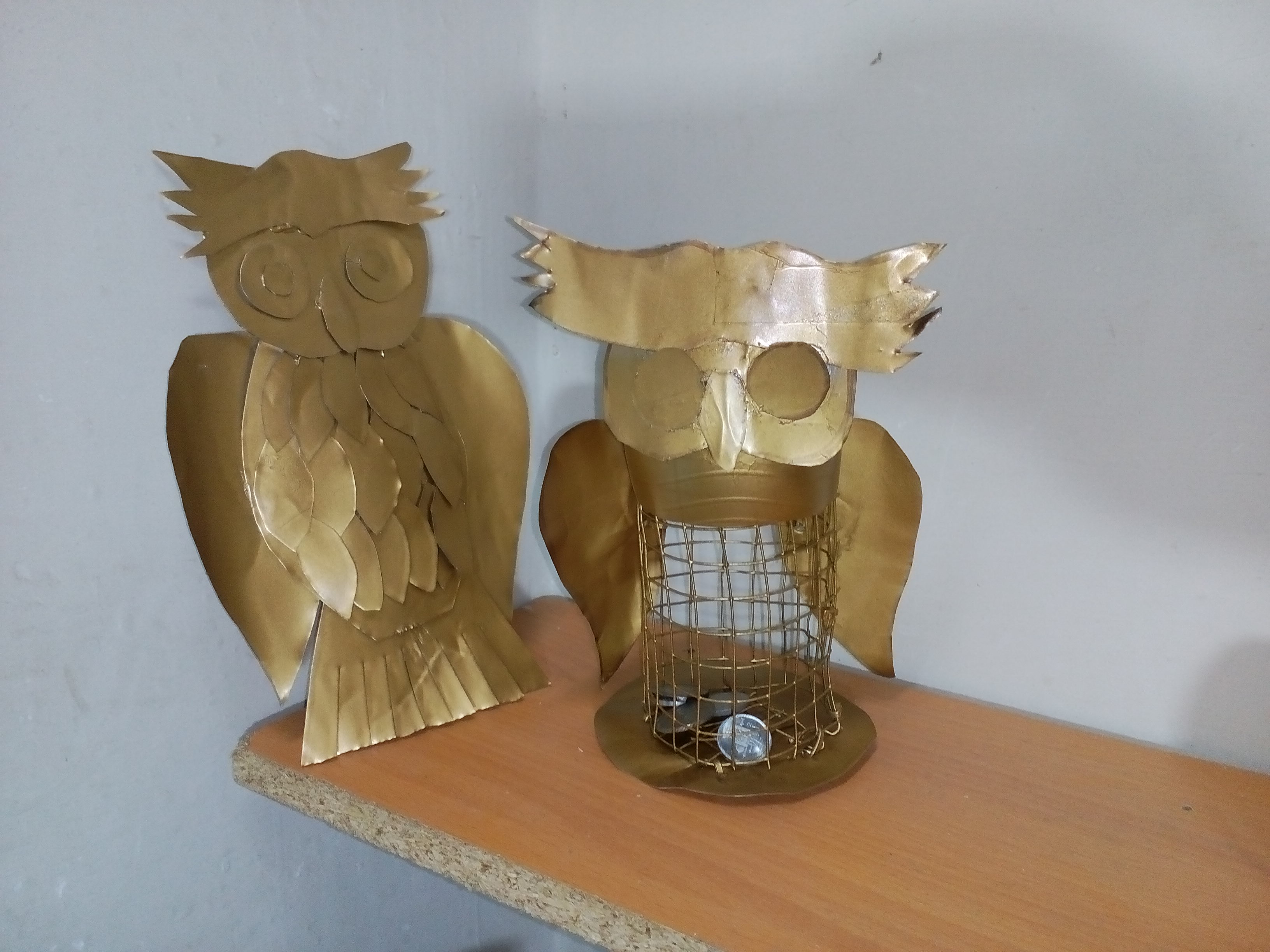 Picture of How to Make Owl Coin Bank