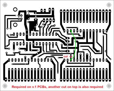 Version 1 PCB Fix