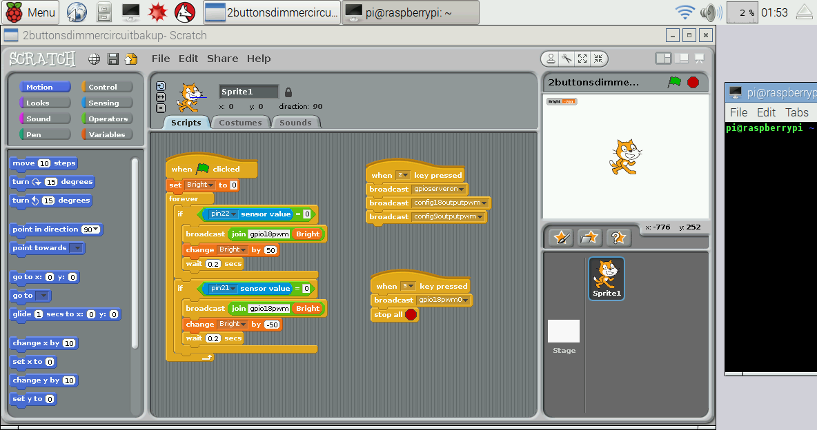 Picture of Programming With Scratch!