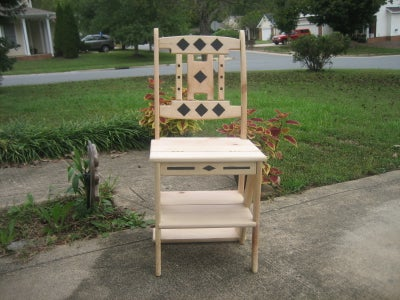 FRANKLIN LIBRARY CHAIR