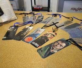 Laser Cut Bookmarks
