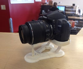 Making a Custom Stand for DSLR Camera