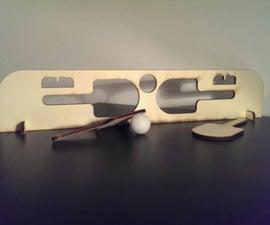 Laser cut Ping Pong set