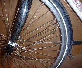 DIY eyelet for bicycle forks