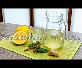Homemade Herbal Tea: a Tasty Drink (Warm or Iced)