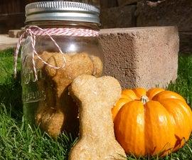 Pumpkin & Peanut Butter Flavored Dog Treats