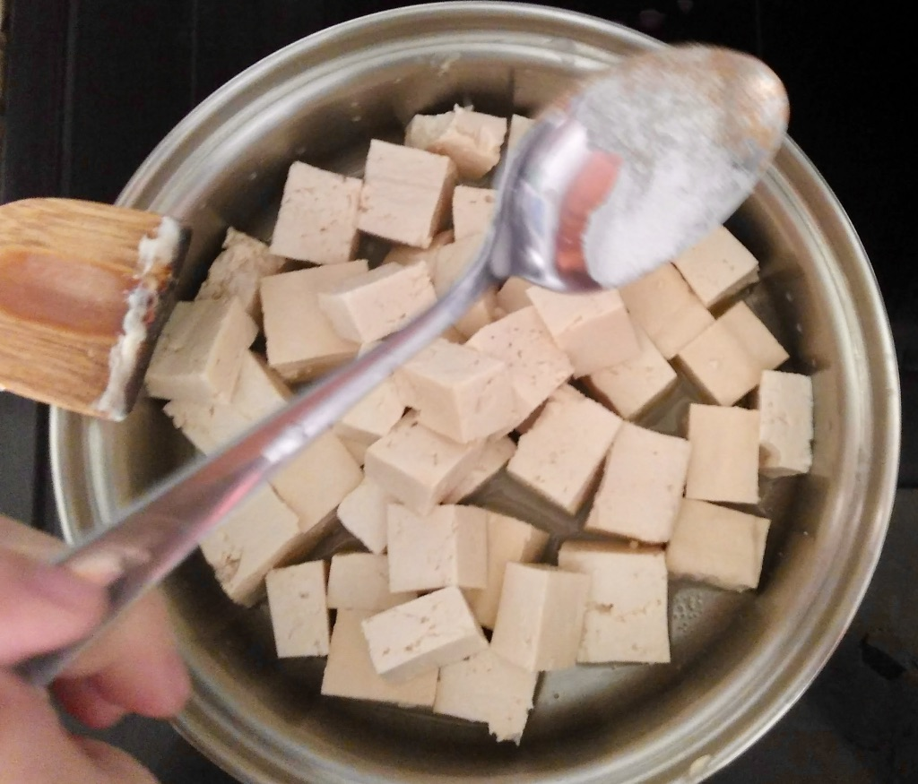 Picture of Cooking the Tofu