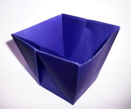 """Origami """"Takeout"""" Container"""