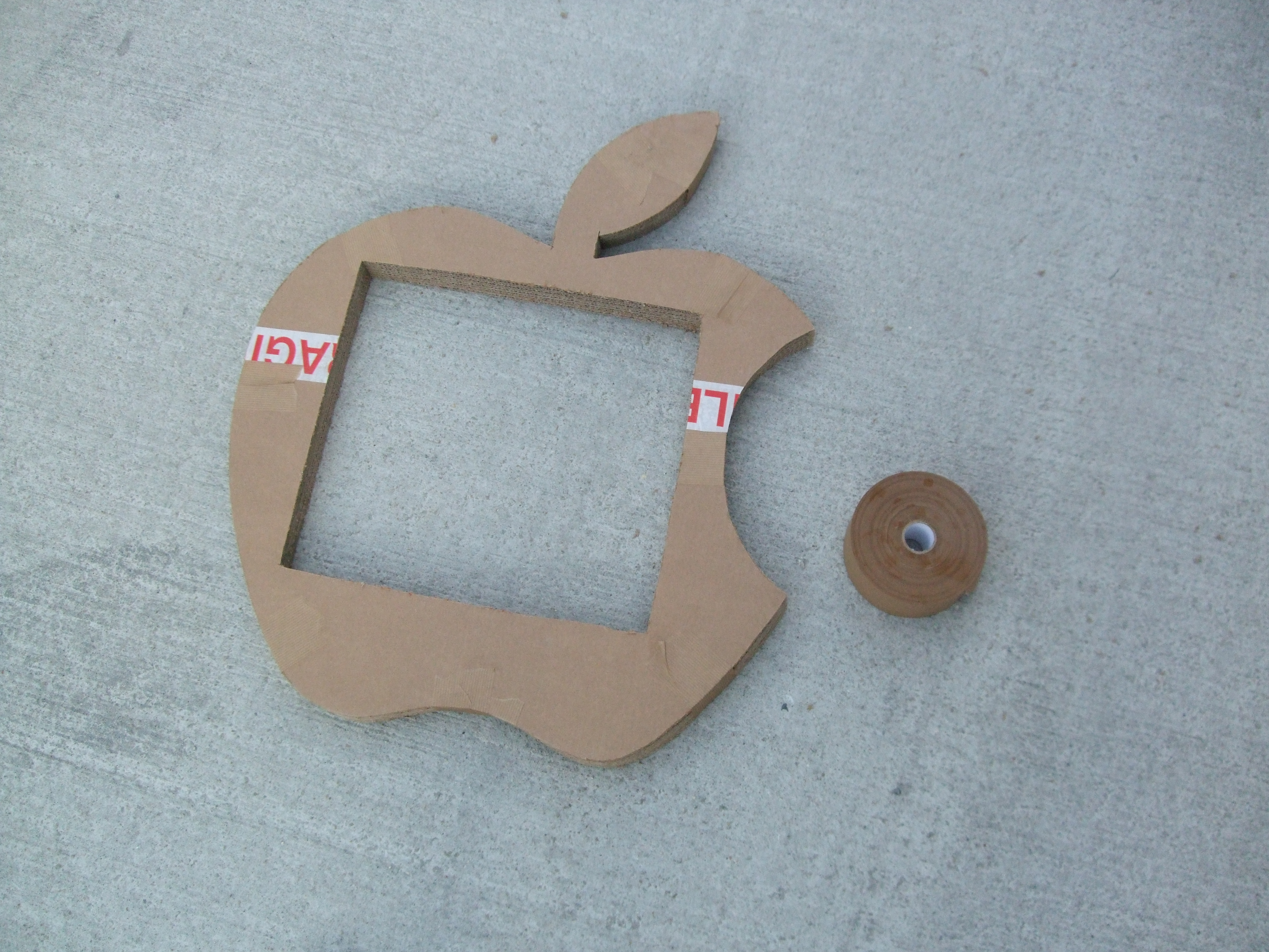 Picture of The Apple's Pattern and Cut of the Slices