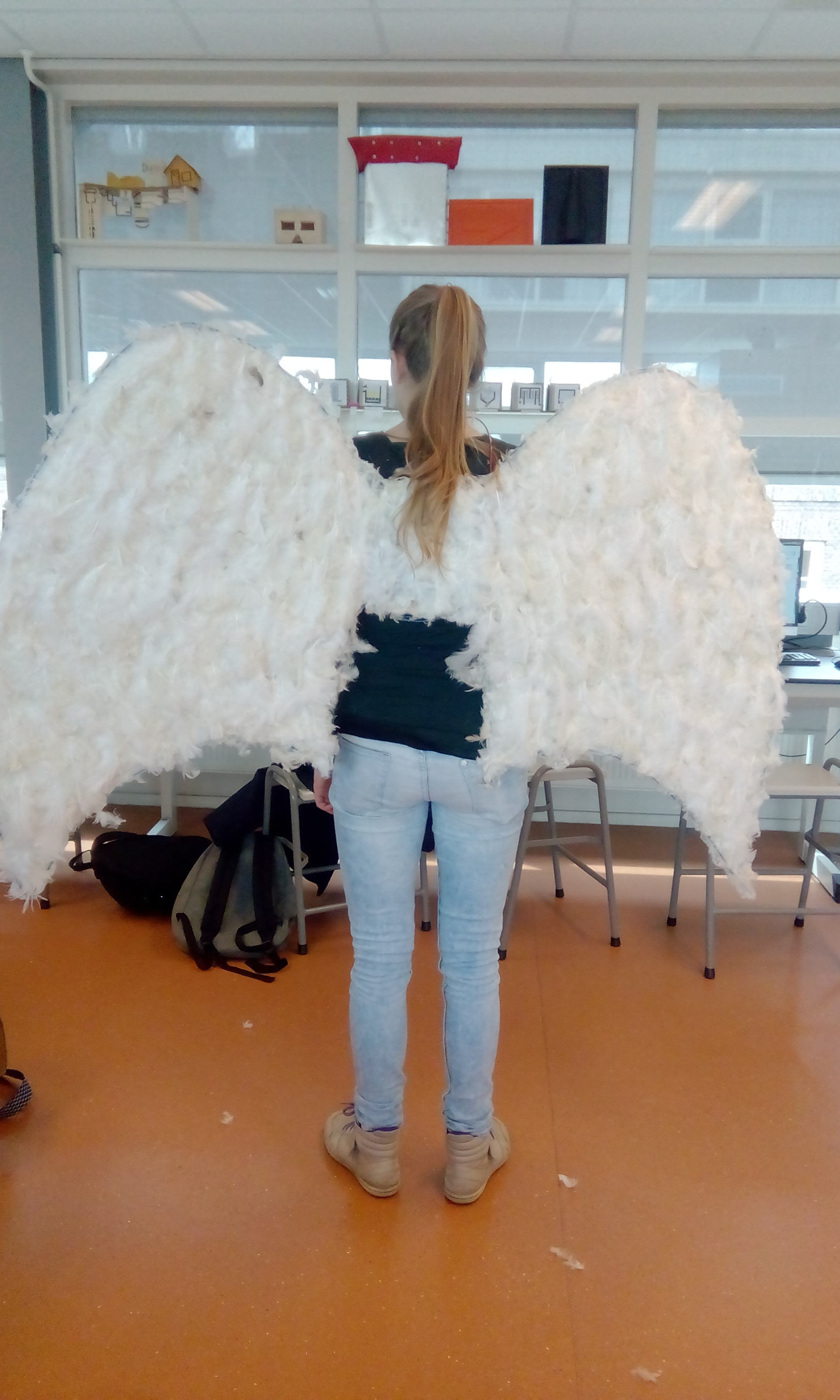 Picture of Angel Wings With El Wire