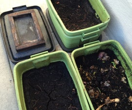 "Make ""Black Gold"" With DIY Worm Compost Bins"