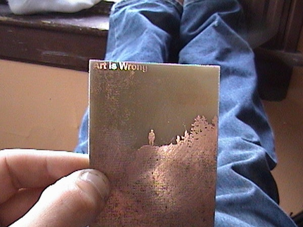 (easily) Etch Images in Copper
