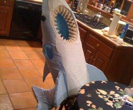 How to make a shark costume