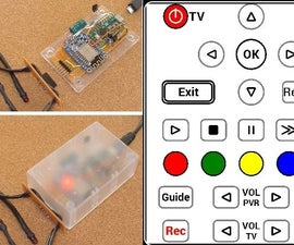 Customizable IR Remote Replacement -- No Android Programming Required