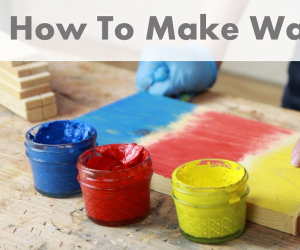 How to Make Wax Paint