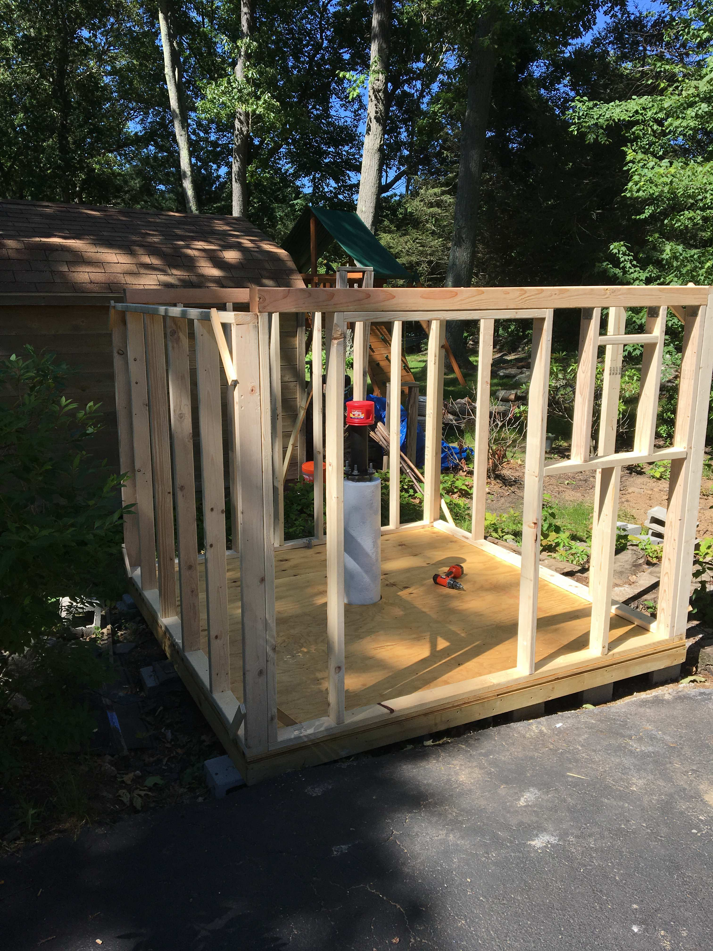 Picture of STEP 3 - Construct the Walls (6/13-6/21)