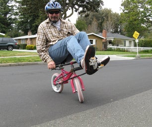Make a Mini Recumbent From a Kid Bike