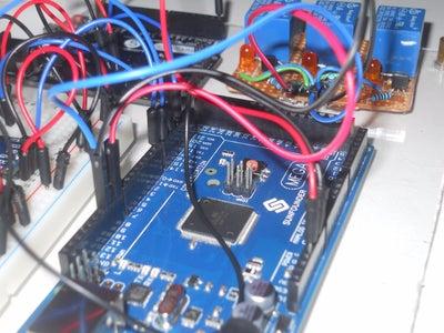 The Main Server (Arduino Mega, Leonardo, Photon)