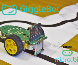 GiggleBot Line Follower Using Python