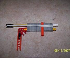 Tiny torture knex gun