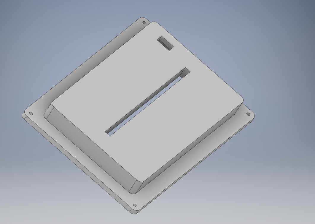Picture of Model the Base (Box That Will Contain Your Components)