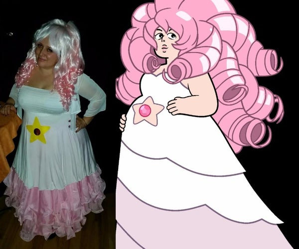 Rose Quartz Steven Universe Halloween Costume