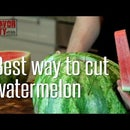 How To Cut Watermelon Like A Boss
