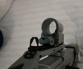 "Nerf ""Red Dot"" Sight"