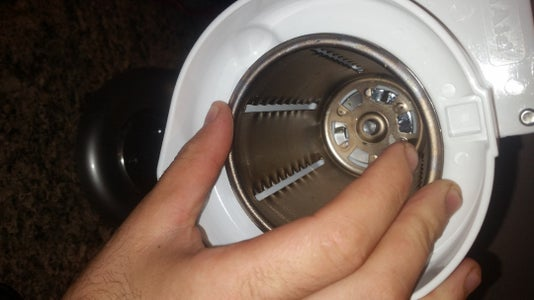 Insert the Chosen Shredder Type to the Drive Shaft