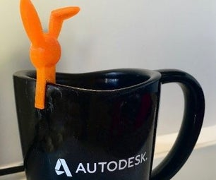 Design and 3D Print a Coffee Cup Animal