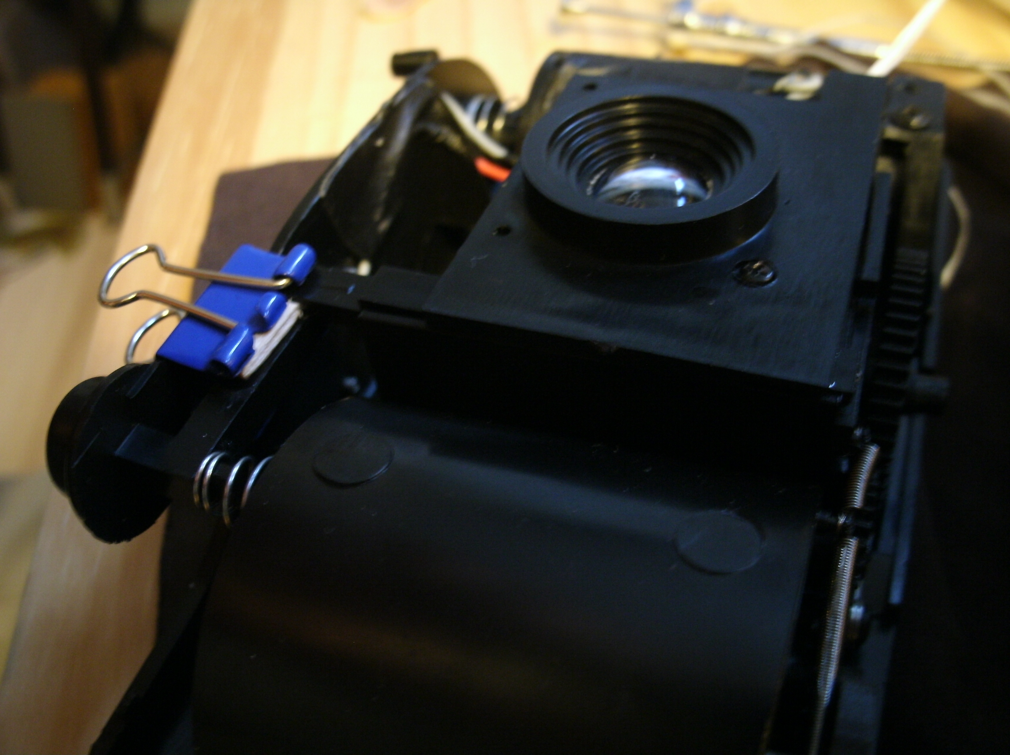 Picture of Mod #2 Cable Release Socket