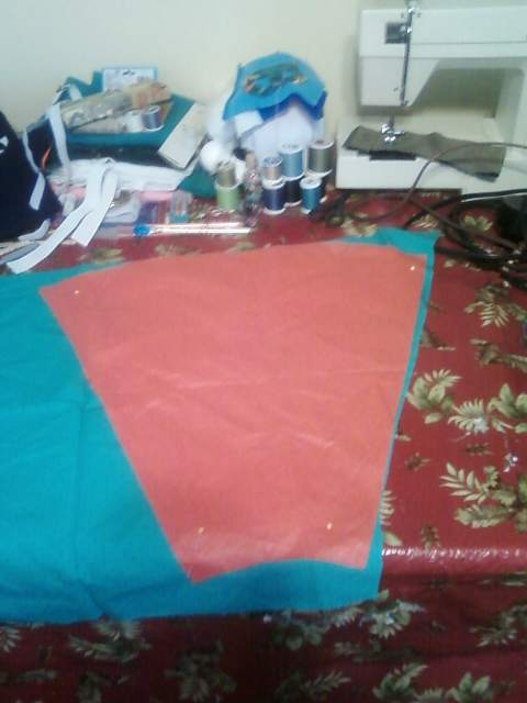 Picture of Cutting the Fabric! and What You Need!