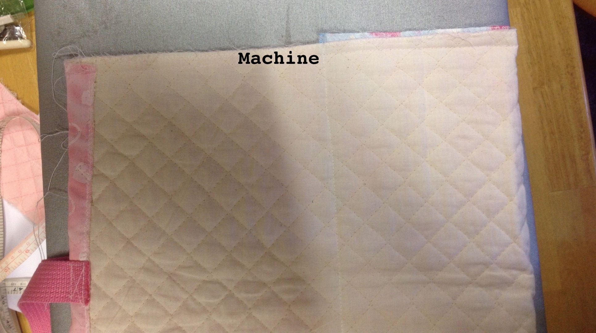 Picture of Machine Sides:両サイドを縫う