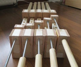 Wooden Bar Clamp
