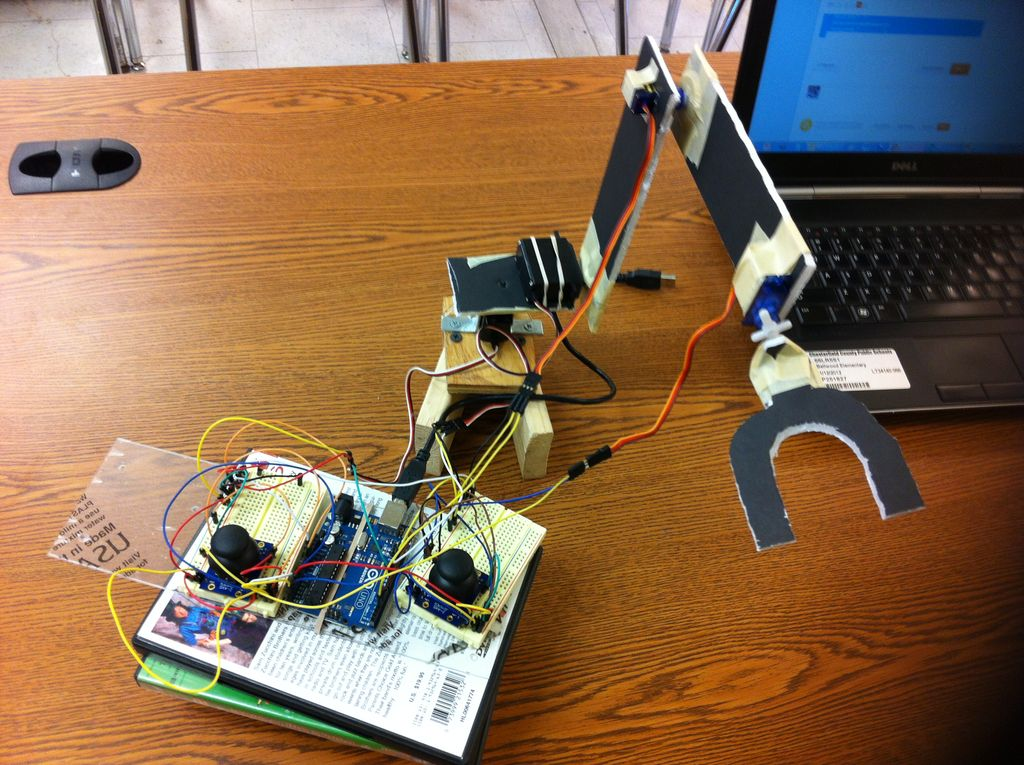 Picture of Arduino Control Arm