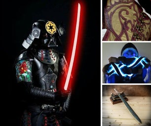 Leather Halloween Projects