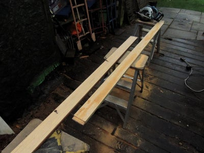 Building the Table Base Frame and Supporting Legs
