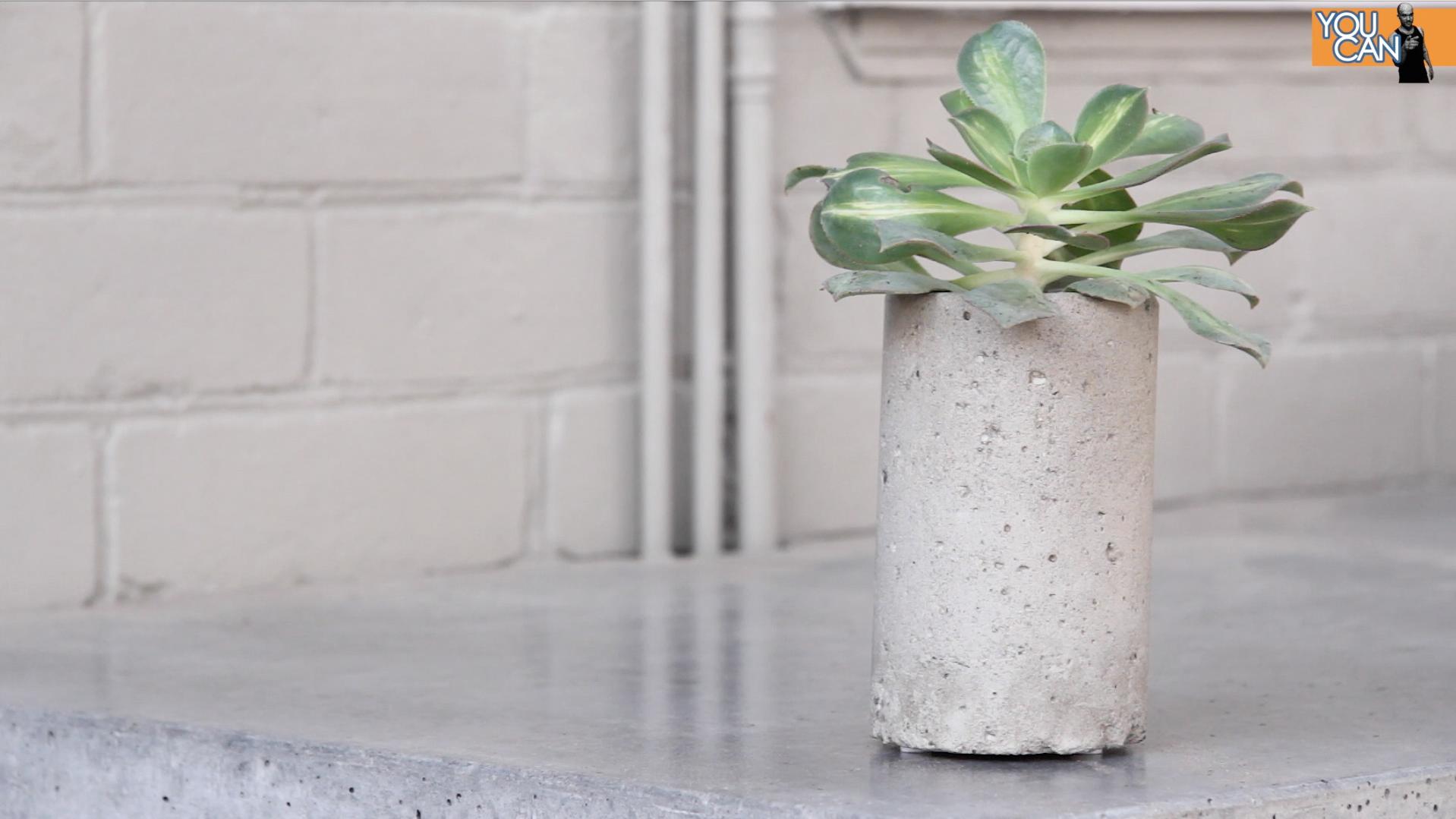 Picture of Concrete Flowerpot